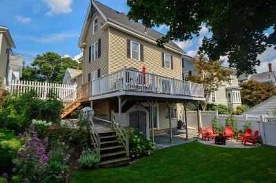 Woburn Single Family Home Under Agreement: 21 Auburn St
