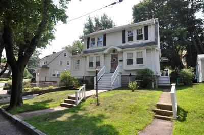Arlington MA Single Family Home Under Agreement: $629,000
