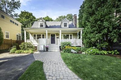 Arlington MA Single Family Home Under Agreement: $899,900