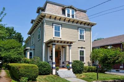 Arlington Single Family Home Contingent: 23 Russell Street