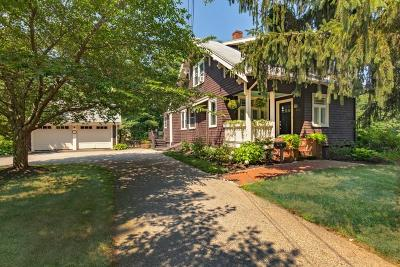 Hingham Single Family Home Under Agreement: 243 Cushing St