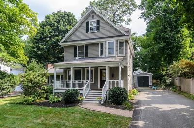 Wellesley Single Family Home Under Agreement: 10 Orchard St