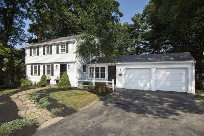 Hingham Single Family Home Under Agreement: 11 Colonial Road