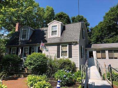 Stoneham Single Family Home Under Agreement: 53 Duncklee Ave