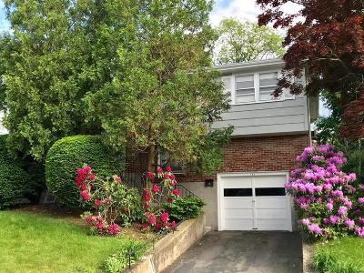 Waltham Single Family Home Under Agreement: 122 Florence Road