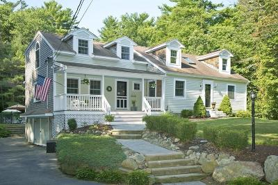 Norwell Single Family Home Under Agreement: 315 Mount Blue St