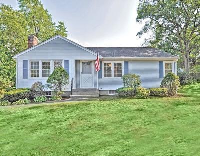 Westborough Single Family Home Under Agreement: 5 Maple Cir