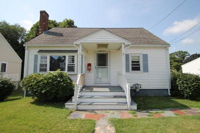 Weymouth Single Family Home Under Agreement: 32 Byron Rd