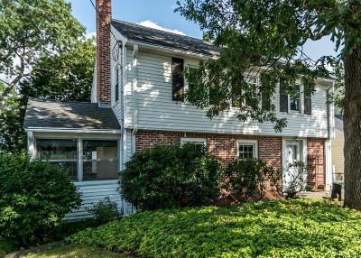 Waltham Single Family Home Under Agreement: 75 Prentice Street