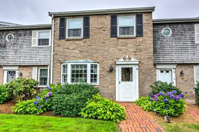 Barnstable Condo/Townhouse For Sale: 74 Captain Cook #74