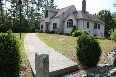 Middleboro Single Family Home For Sale: 12 Clarence Soule Dr