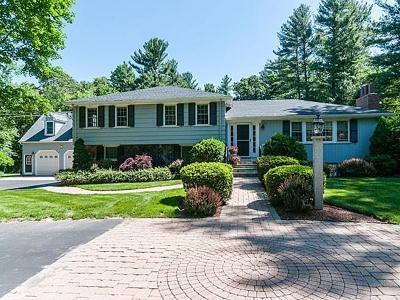 Sherborn Single Family Home For Sale: 11 Harrington Ridge Road