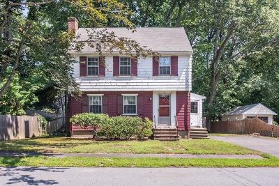 Reading MA Single Family Home Under Agreement: $409,000