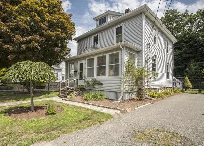Whitman Single Family Home Contingent: 9 Commercial St