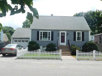 Peabody Single Family Home Contingent: 50 Aberdeen Ave