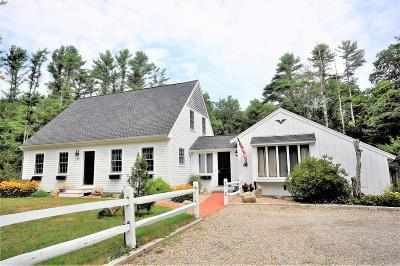 Plympton Single Family Home Under Agreement: 149 County Rd