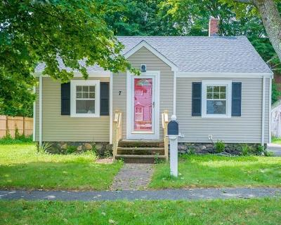 Peabody Single Family Home Contingent: 7 Longview Way