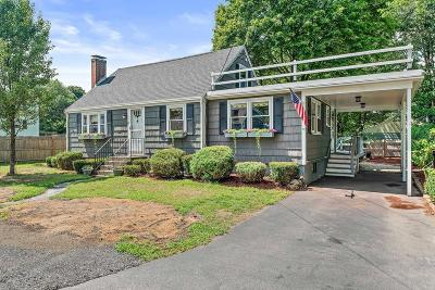 Weymouth Single Family Home For Sale: 85 Donnellan Cir