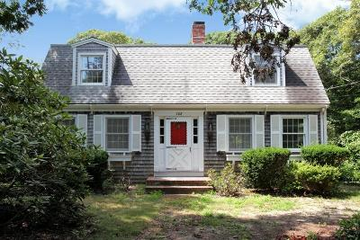 Falmouth Single Family Home For Sale: 308 Menauhant Rd