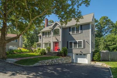 Arlington Single Family Home Under Agreement: 27 Lorraine Terrace