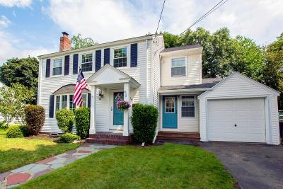 Dedham Single Family Home For Sale: 16 Lilly Ln