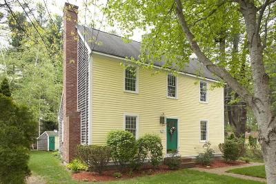 Duxbury Single Family Home Under Agreement: 28 Alden Ave