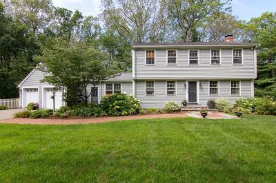 Sherborn Single Family Home For Sale: 174 South Main