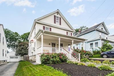 Lowell Single Family Home Under Agreement: 110 Stevens Street