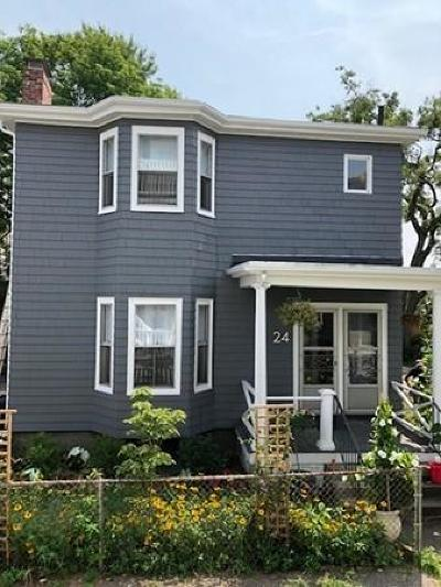 Cambridge Single Family Home Under Agreement: 24r Rice Street