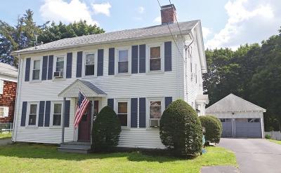 Saugus MA Single Family Home For Sale: $339,900