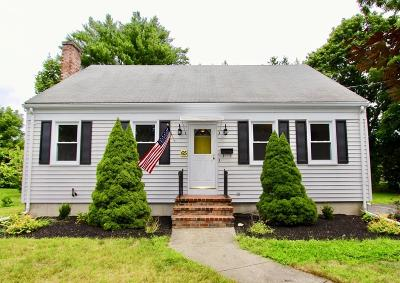West Bridgewater Single Family Home For Sale: 65 Brooks Place