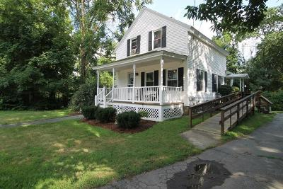 West Bridgewater Single Family Home Under Agreement: 156 Bryant St