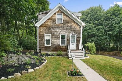 Hingham Single Family Home Contingent: 16 Hayes Rd