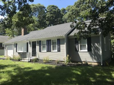 MA-Barnstable County Single Family Home New: 157 Eileen St