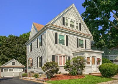 Malden Single Family Home Under Agreement: 35 Church Street