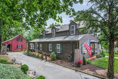 Dedham Single Family Home Price Changed: 282 Highland Street
