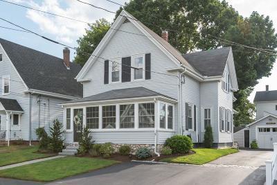 Whitman Single Family Home Price Changed: 21 Laurel Street