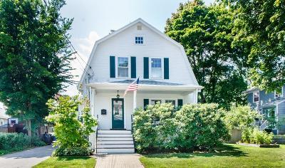Newton Single Family Home Under Agreement: 50 Taft Avenue
