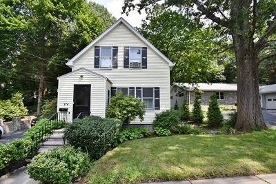Newton Single Family Home For Sale: 374 Winchester St