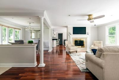 Hingham Single Family Home Contingent: 8 Pinegrove Rd