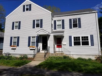 Needham Condo/Townhouse For Sale: 80 Pleasant St #80