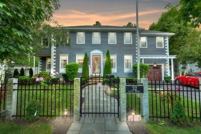 Saugus Single Family Home Under Agreement: 32 Eustis St