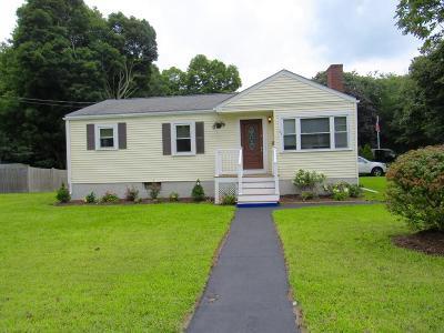 Avon Single Family Home Contingent: 91 Memorial Dr