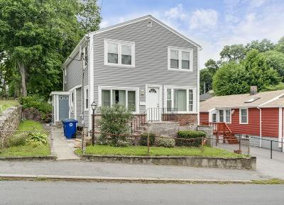 Braintree Single Family Home Under Agreement: 122 Edge Hill Rd