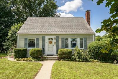 Arlington MA Single Family Home Under Agreement: $639,000
