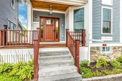 Brookline Condo/Townhouse Under Agreement: 809 Boylston Street #1
