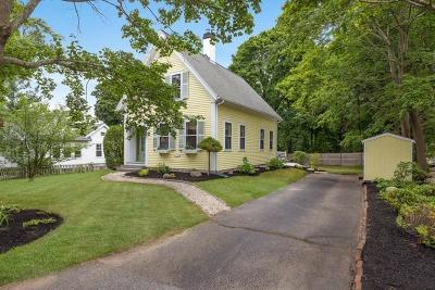 Scituate Single Family Home Under Agreement: 384 Country Way