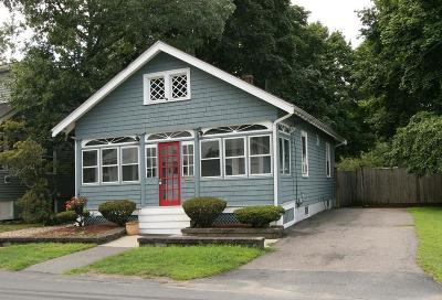 Wakefield Single Family Home Sold: 7 Meriam St