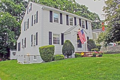 Arlington MA Single Family Home Under Agreement: $799,900