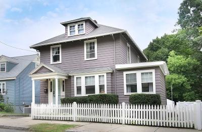 Malden Single Family Home Under Agreement: 112 Sylvan Street